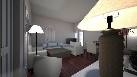 salonentrada - Living room  - by alcarmer