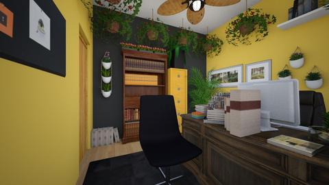 Hufflepuff Office - Office  - by SammyJPili