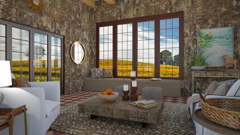 sun room tuscany - by annamarina