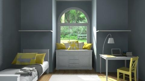 girl bedroom - Vintage - Bedroom  - by cheekyweirdo