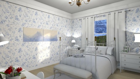 Simple and romantic - Classic - Bedroom - by Mariana Gooliveira