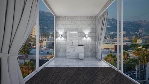 Modern Guest Bathroom - Bathroom  - by littlegorl