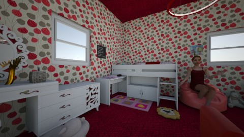 Bedroom - Modern - Kids room  - by RollPinkEra