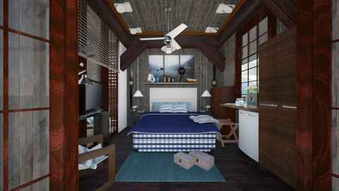 hasten bedroom 4 - Country - Bedroom  - by Evangeline_The_Unicorn