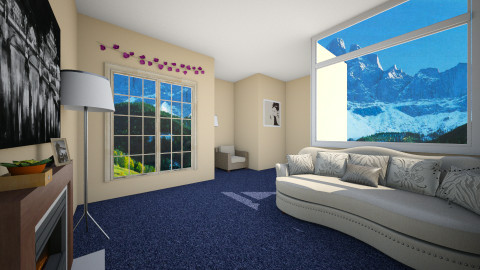 Natural and Minimal room - Minimal - Living room - by Faby_89_