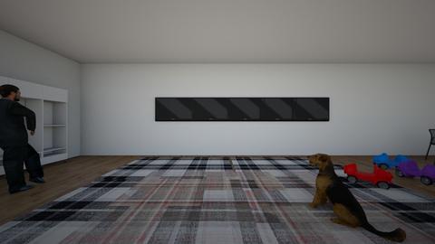 buusy - Masculine - Living room  - by idkiliketomakethings