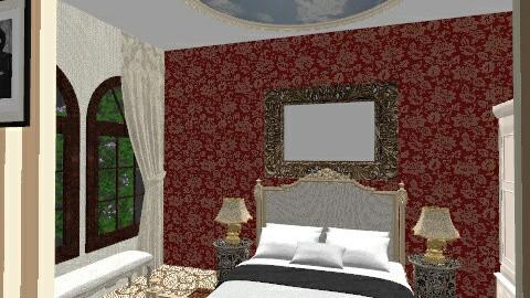 King - Retro - Bedroom  - by kamelliadm