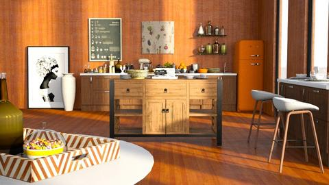 autumn kitchen - Modern - Kitchen  - by RimaNina