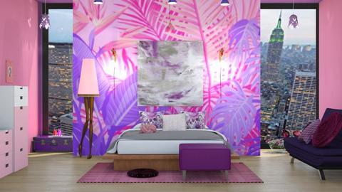 PurplePink - by Nocturnal Leopard