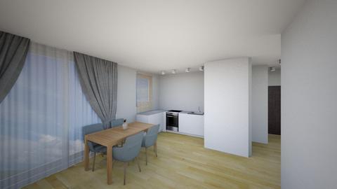Kuchnia 5a - Living room - by KatarzynaLaszczyk