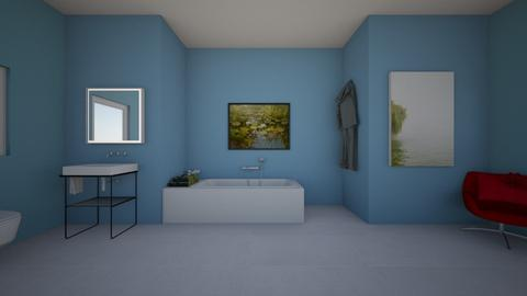lilly pond bathroom - Bathroom  - by 29catsRcool