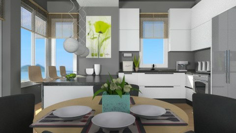 Kitchen101 - Eclectic - Kitchen  - by channing4