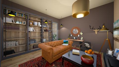 and again wooden - Rustic - Living room - by ghxzaleh