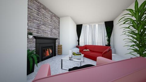 redblack - Modern - Living room  - by Alexa01