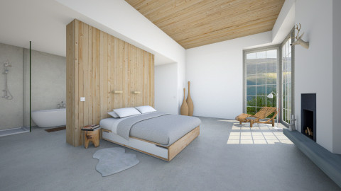 Naturally Minimal - Minimal - Bedroom  - by MandyB84