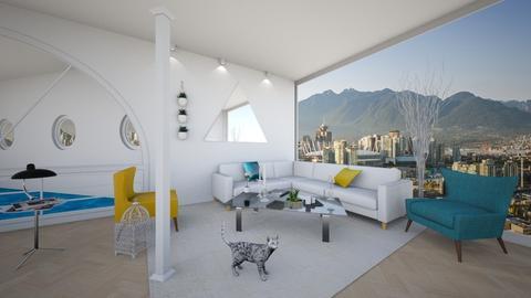 Columns Living Room 7 - Minimal - Living room  - by yaizalloriginal