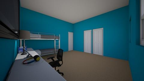 Joshuaj Reyes  - Bedroom  - by portillo