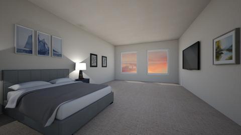 Basic Hotel Bedroom - Bedroom  - by Mxtcha_fox