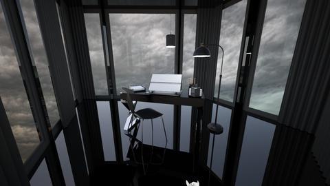 Masculine Stormy Office - Masculine - Office  - by Callmekai22