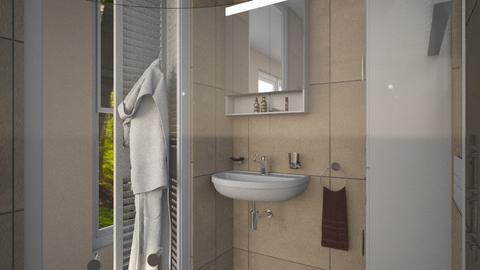 Little House Bathroom - Bathroom  - by Claudia Correia