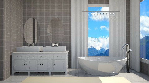 Mountain Views - Bathroom  - by deleted_1513655778_Valencey14