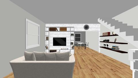 1231 - Modern - Living room  - by odarka17