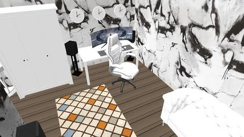 Trading setup - Modern - Bedroom  - by Mahan123