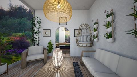 sun room - Garden  - by karliestarcevich