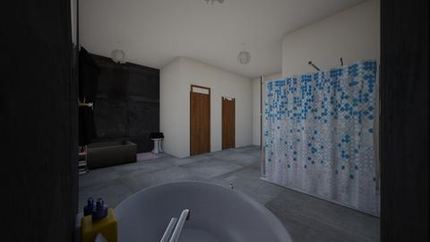 easy bathroom - Glamour - Bathroom  - by tillytot