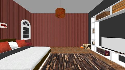Fall inspired bedroom - Bedroom  - by karinaaaa_20