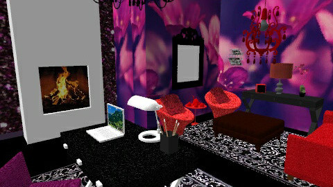 Purple room - by Mary Swanson