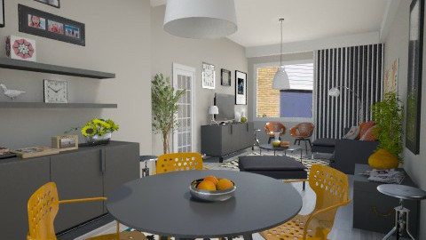 House contest - Modern - Living room  - by Thrud45