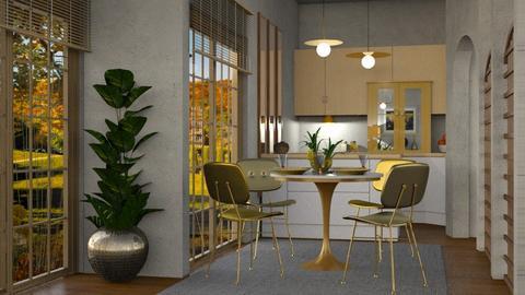 Gold Moon_Kitchen - by ZsuzsannaCs