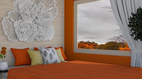 autumn room  - Bedroom  - by FANGIRLdesigner