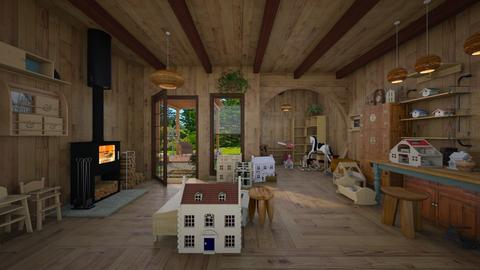 wood - by Christine Keller