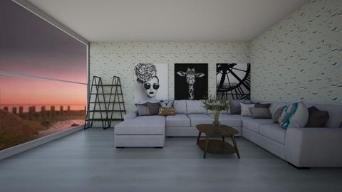Gull Room 1 - Living room  - by Drachenmaedchen