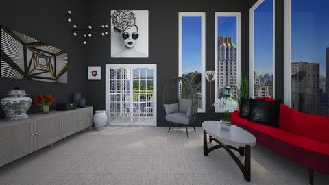 Melville - Living room  - by VeroDale