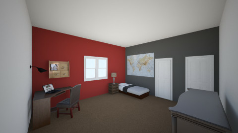 My Room - Bedroom - by Carthaginian