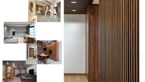 Moodboard wood grille - by Claudia Silaghi