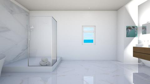 Beach Bathroom - Minimal - Bathroom  - by Taehyungie