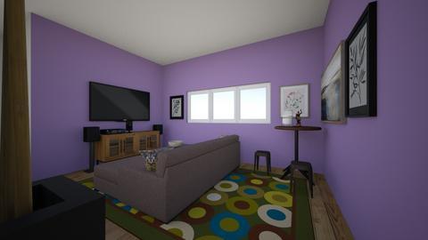 LIVINF ROOM - Living room  - by Aidan Eichorst