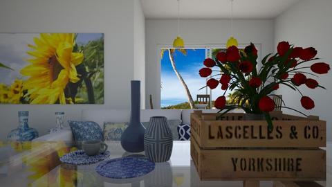 sun - Living room  - by judsonek