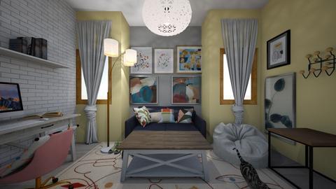 Dream Living Room - Living room  - by mlynum