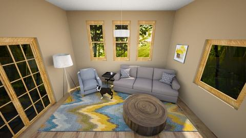 Living room two - by Meredyth Imrie