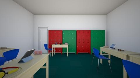 Hallfield classroom - Office  - by Ibrahim Rahman101010