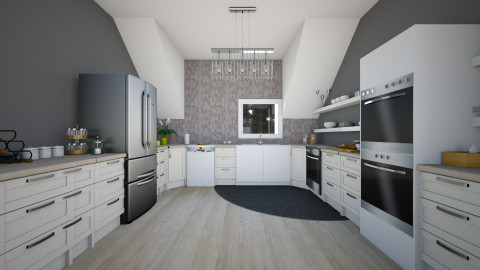 something - Modern - Kitchen  - by CasuallyCrystalClear