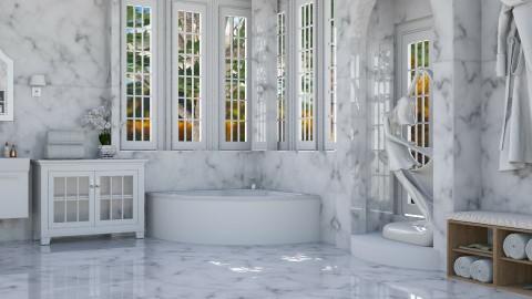 marble - Classic - Bathroom  - by Ali Ruth