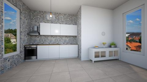 X - Modern - Kitchen  - by Twerka