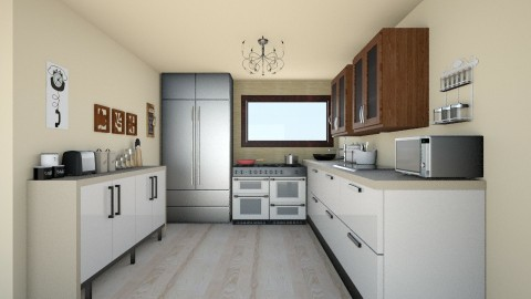 Room Without Title - Classic - Kitchen - by colorful_eye