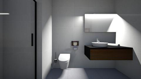 3BHK - Bathroom  - by Architectdreams